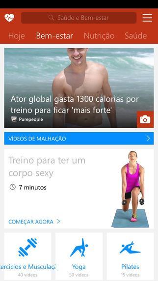 MSN Saúde e Bem-estar - Imagem 2 do software