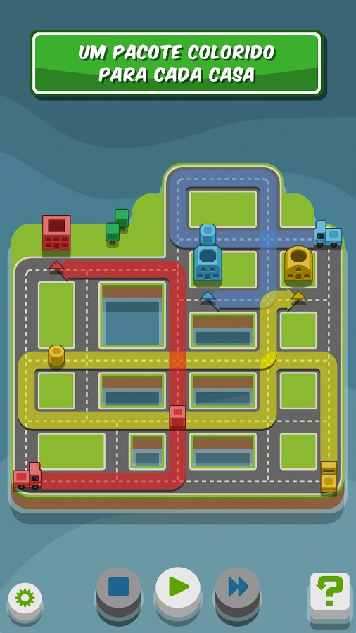 RGB Express - Mini Truck Puzzle - Imagem 1 do software