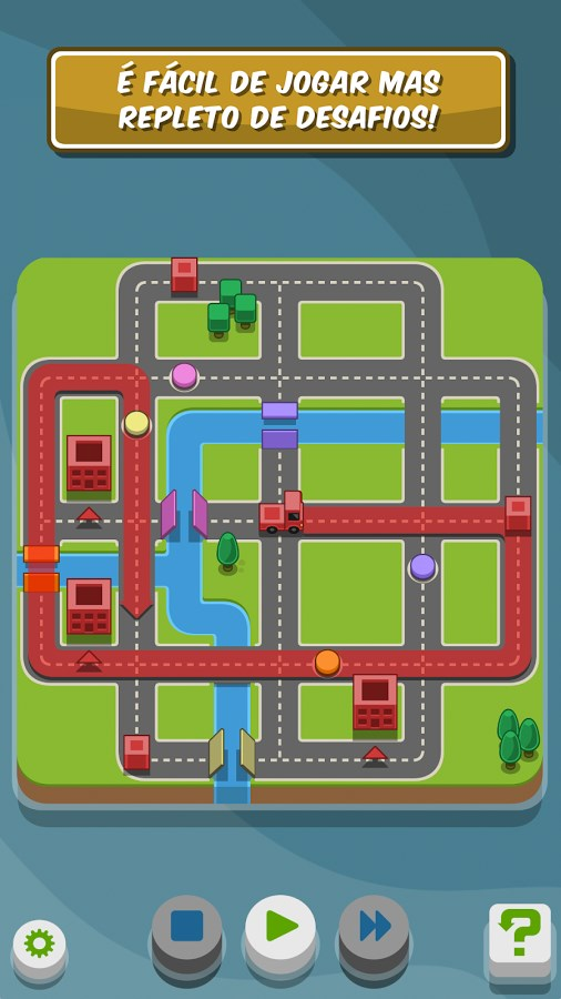 RGB Express - Mini Truck Puzzle - Imagem 2 do software