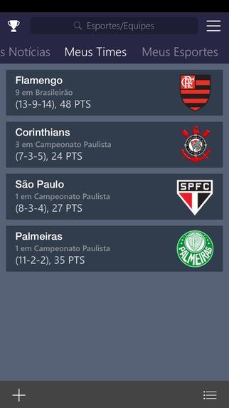 MSN Esportes - Imagem 2 do software