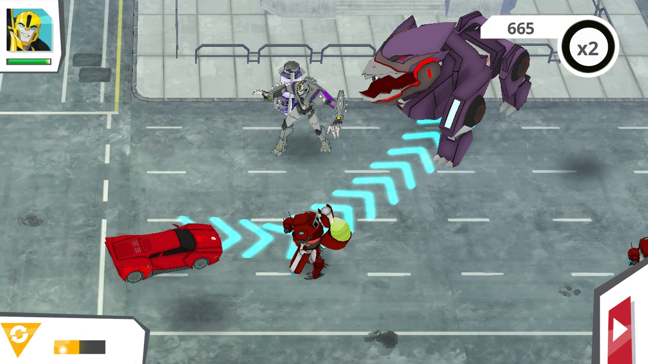 Transformers: Robots In Disguise - Imagem 1 do software