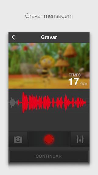 Zoobe - mensagens de video animado em 3D - Imagem 2 do software