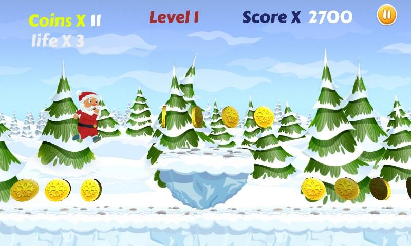 Santa Run: Free Christmas Game - Imagem 1 do software