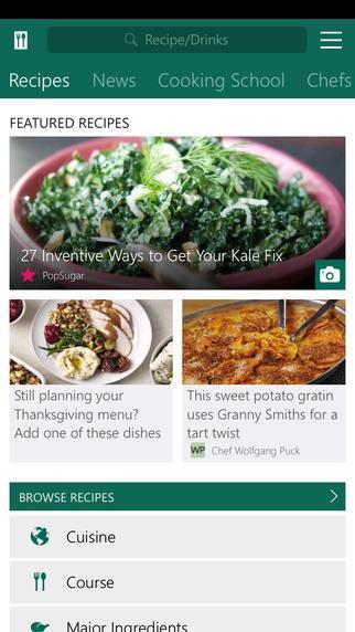 MSN Food & Drink - Imagem 2 do software