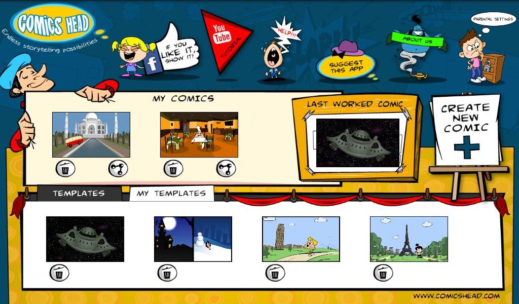 Comics Head - Imagem 1 do software