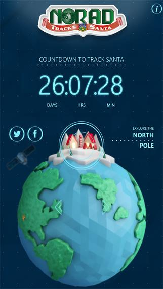 Norad Tracks Santa - Imagem 1 do software