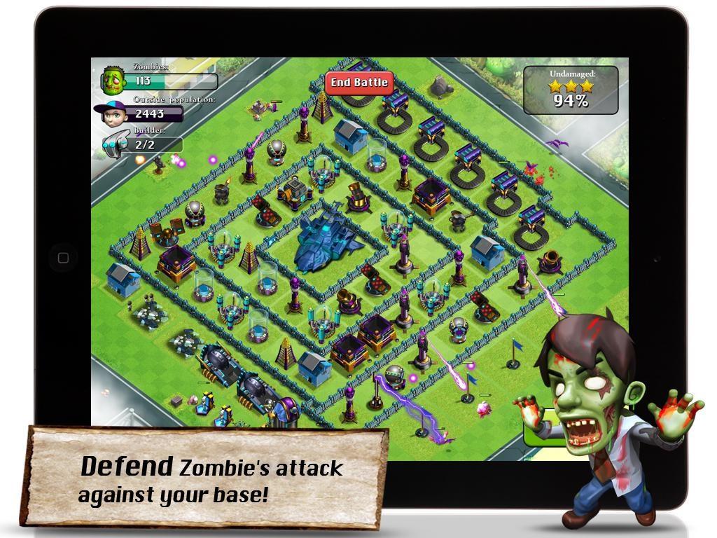 X-War: Clash of Zombies - Imagem 1 do software