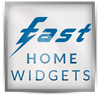 Logo Fast Home Widgets For Facebook ícone