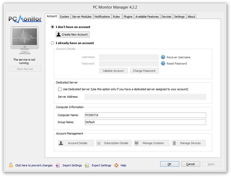 PC Monitor Manager