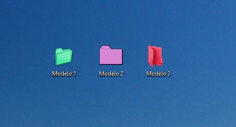 Rainbow Folders.