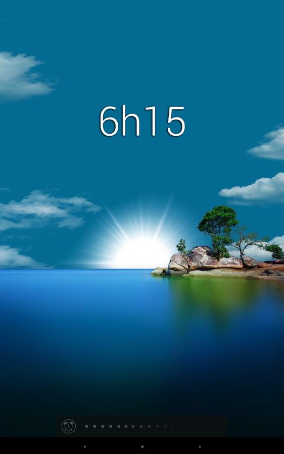 Glimmer (luminous alarm clock) - Imagem 2 do software