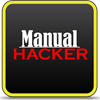 Logo Manual Hacker Gold ícone