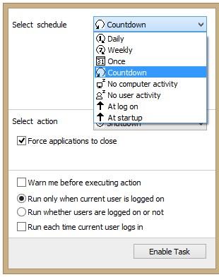 Arytec Switch Off - Imagem 1 do software