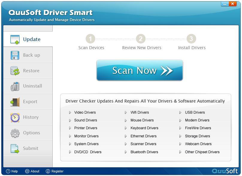 QuuSoft Driver Smart - Imagem 1 do software
