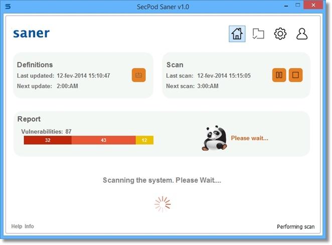 SecPod Saner Personal - Imagem 1 do software