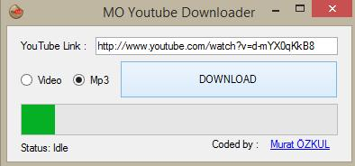 MO YouTube Downloader - Imagem 1 do software