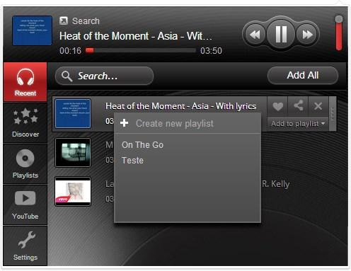 Muzeit Beta – Social Music Player - Imagem 1 do software