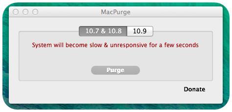 MacPurge - Imagem 1 do software