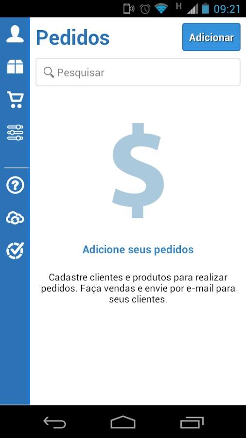 VHSYS Pedidos - Imagem 1 do software
