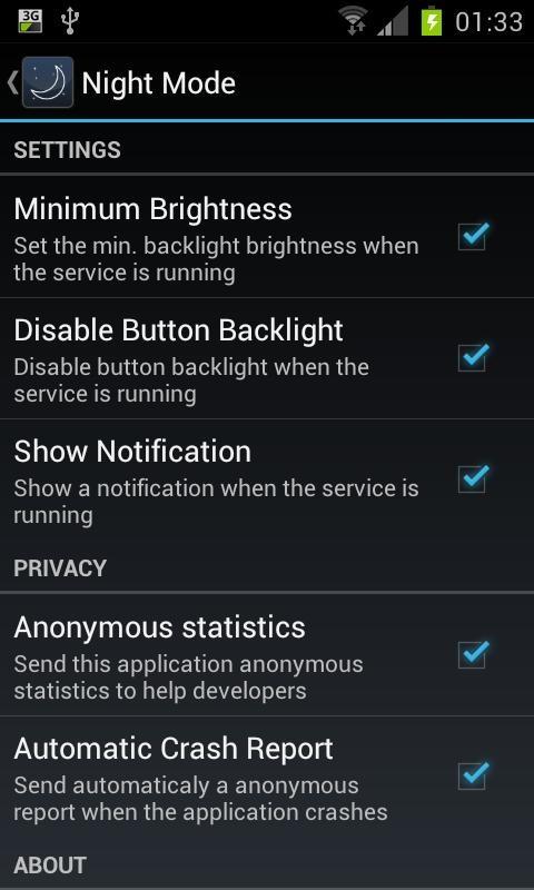 Night Mode - Imagem 2 do software
