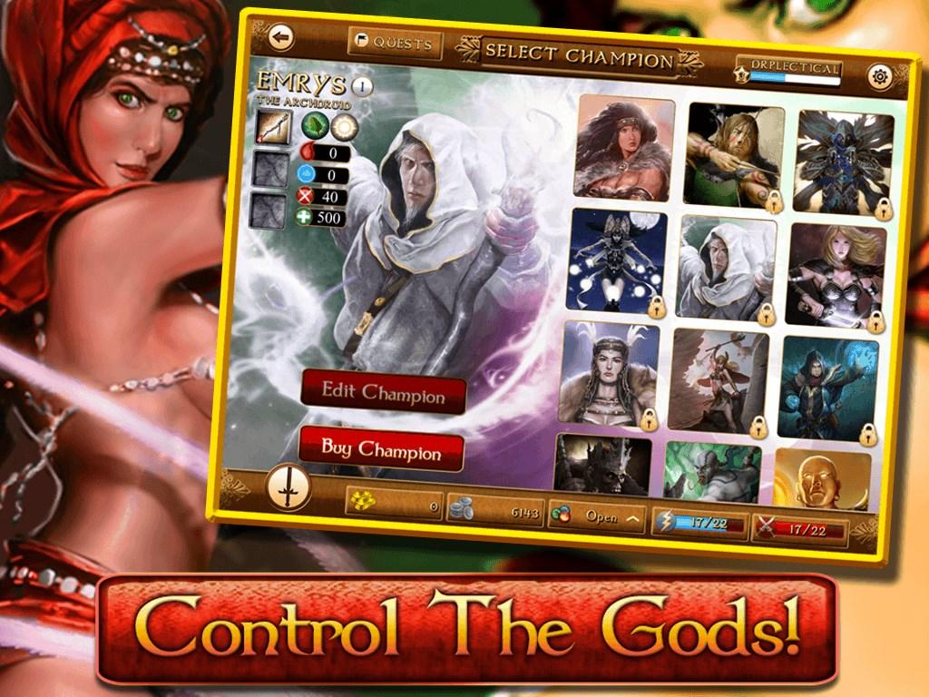 BloodRealm: War of Gods - Imagem 1 do software