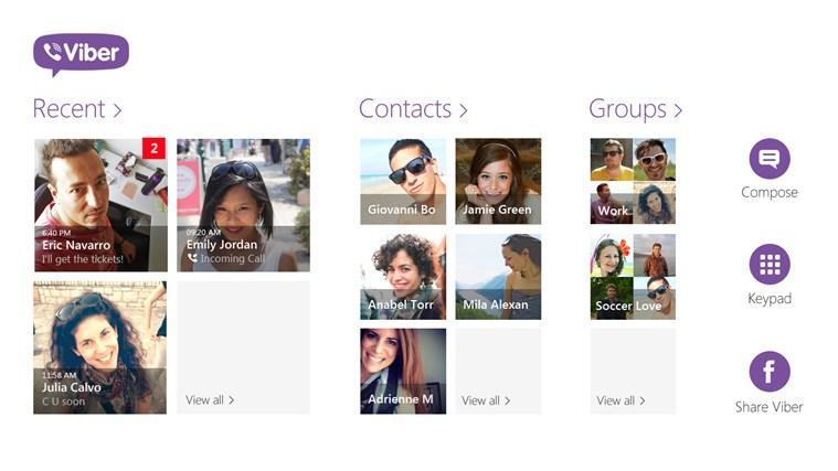 Viber - Free Phone Calls & Text - Imagem 1 do software