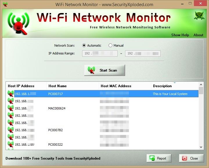 WiFi Network Monitor - Imagem 1 do software