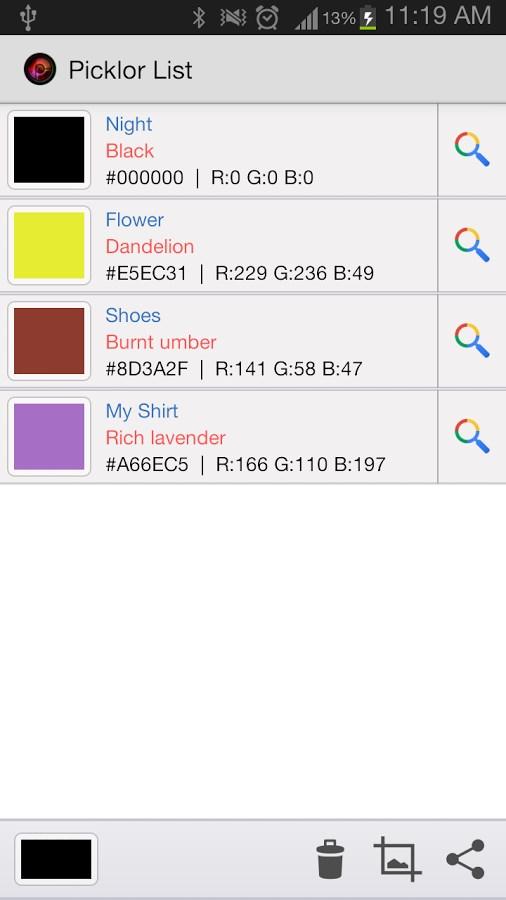 Picklor : Camera Color Picker - Imagem 2 do software