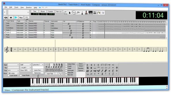 compositor de melodia para pc