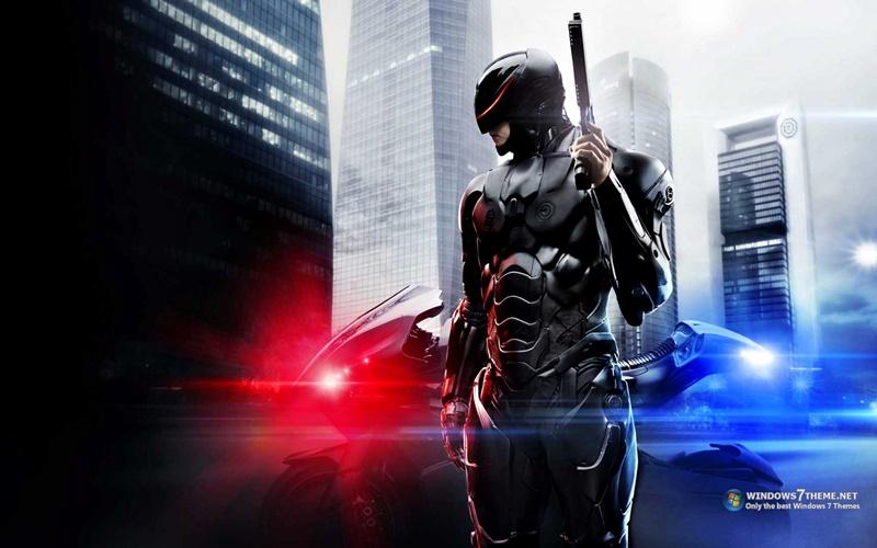 RoboCop 2014 Windows 7 Theme - Imagem 1 do software