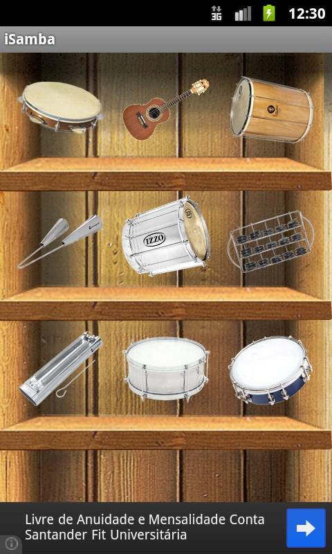 Samba Music Instruments – iSamba - Imagem 1 do software