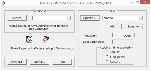 AlaTimer - Imagem 1 do software