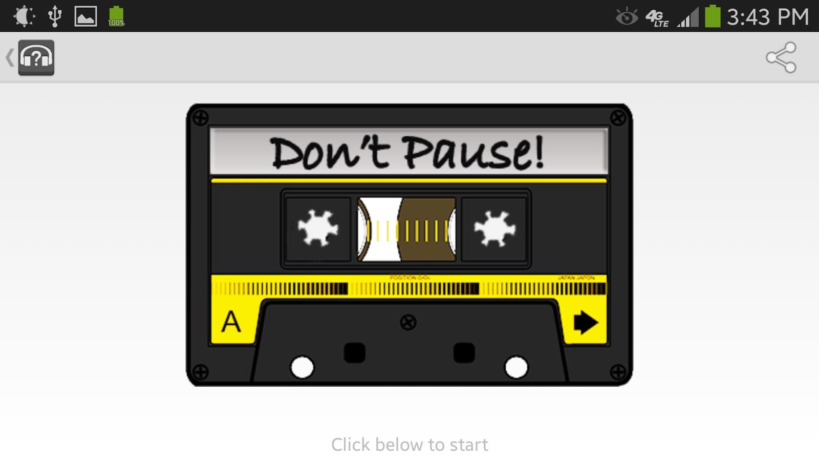 Don`t Pause - Imagem 1 do software