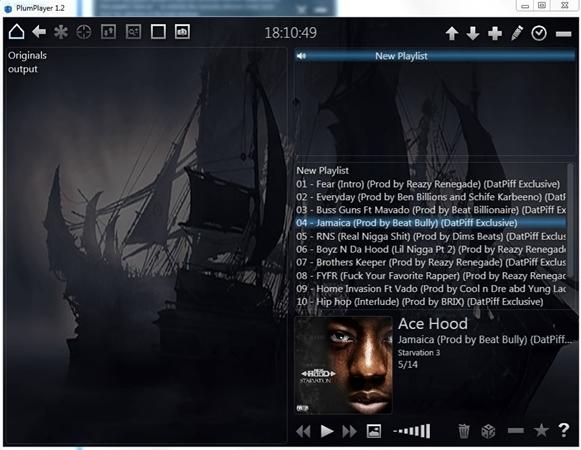 PlumPlayer - Imagem 1 do software