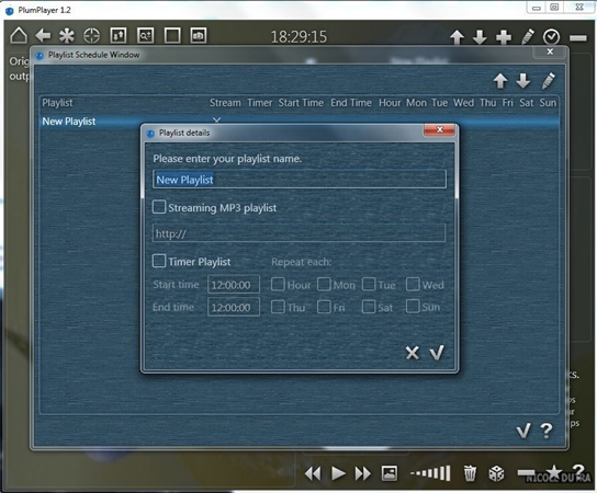 PlumPlayer - Imagem 2 do software