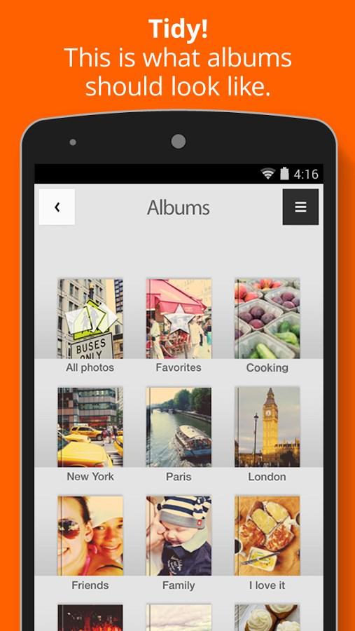 Tidy – Photo Album - Imagem 1 do software