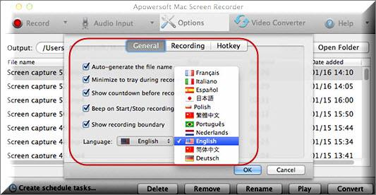 Apowersoft Mac Screen Recorder - Imagem 2 do software