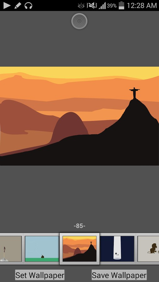 Minimal Wallpapers - Imagem 1 do software