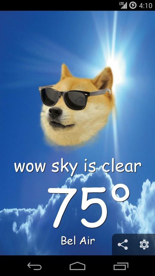 Weather Doge - Imagem 1 do software
