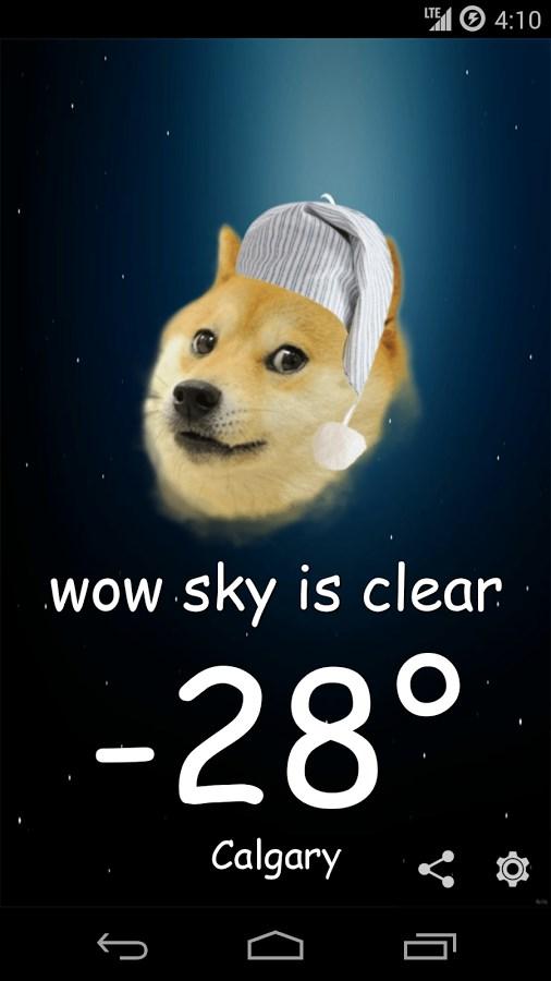Weather Doge - Imagem 2 do software