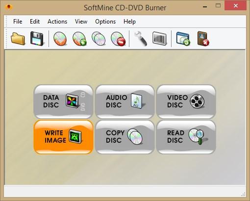 SoftMine CD-DVD Burner - Imagem 1 do software