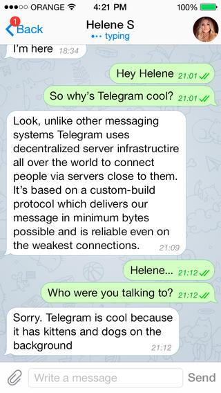 Telegram Messenger - Imagem 2 do software