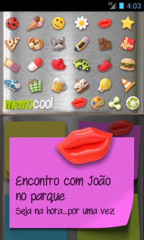 Notas - MemoCool - Imagem 2 do software