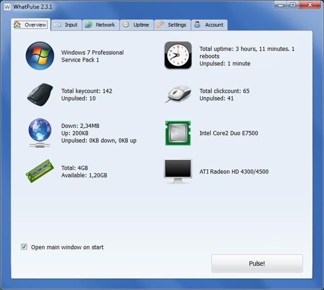 Configuração do PC