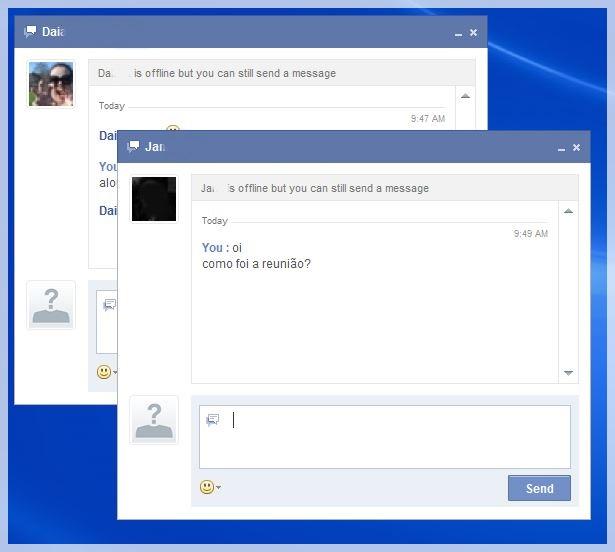 Facebook Chat Instant Messenger - Imagem 3 do software