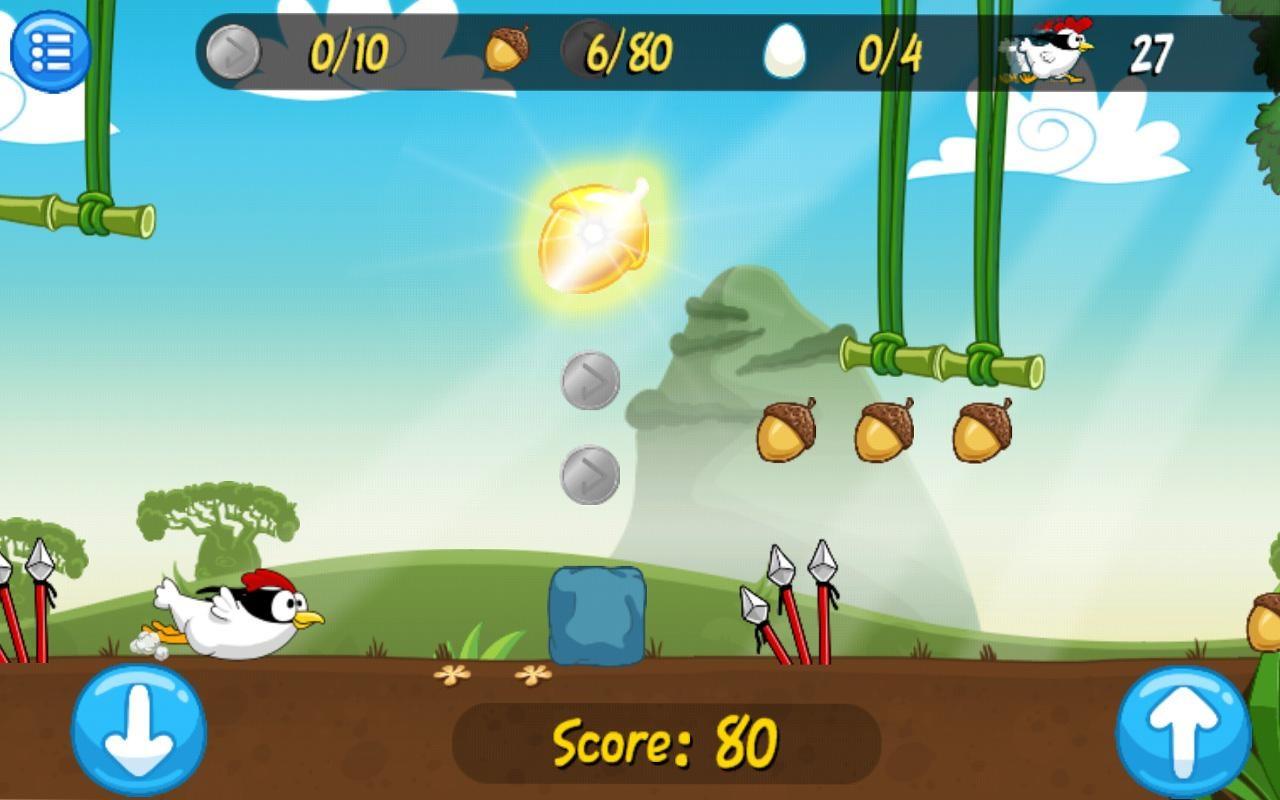 Ninja Chicken Adventure Island - Imagem 1 do software