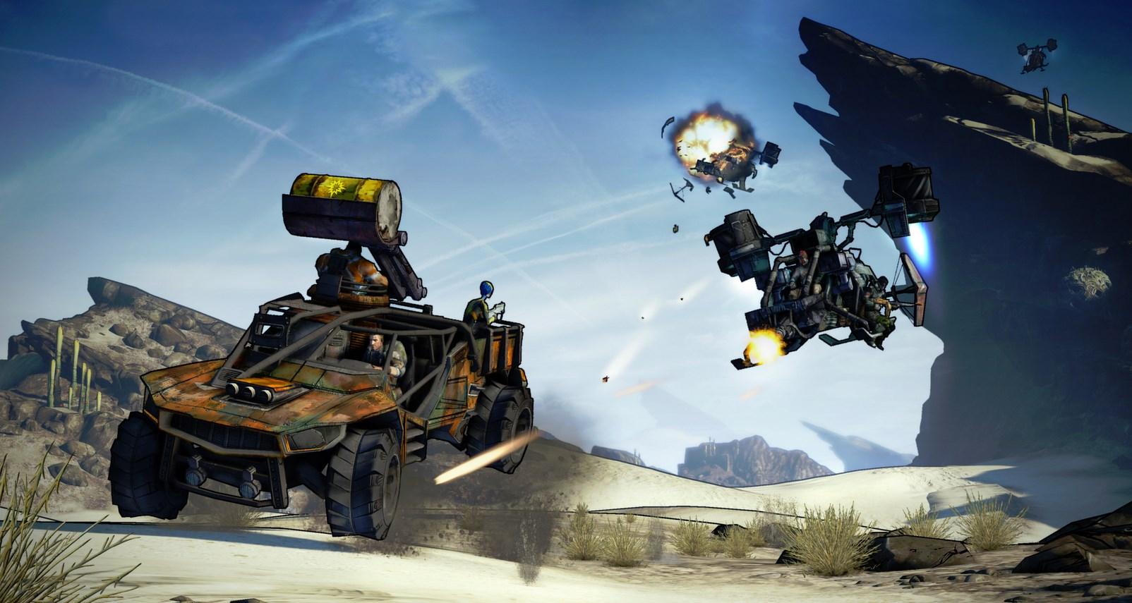 Os veículos aumentam a adrenalina das missões