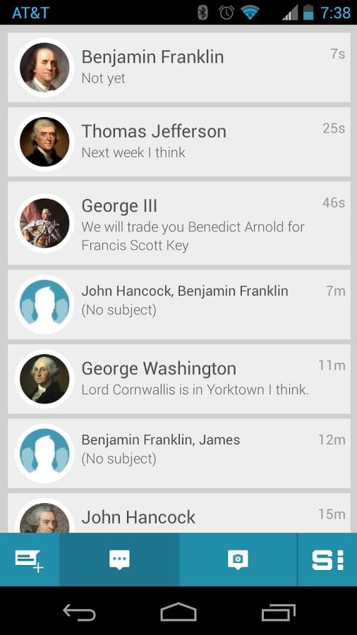 SimplyText SMS Text Messaging - Imagem 1 do software