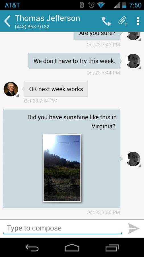 SimplyText SMS Text Messaging - Imagem 2 do software