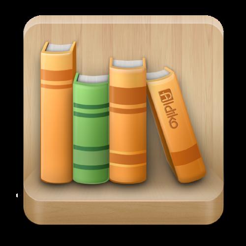 Logo Aldiko Book Reader ícone